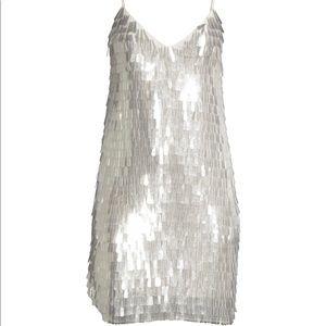 Alice & Olivia Contessa Sequin Slip Dress